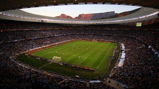 The Cape Town Stadium