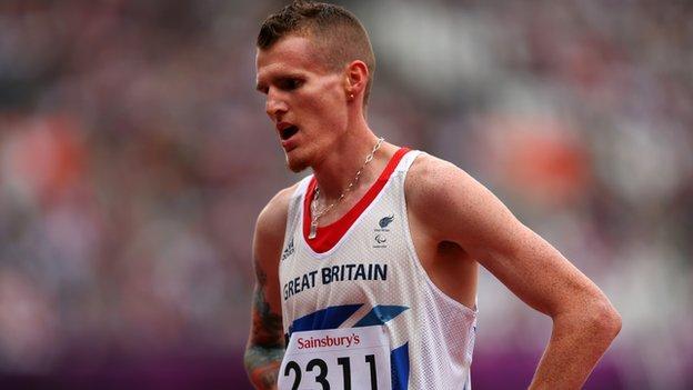 GB athlete David Devine