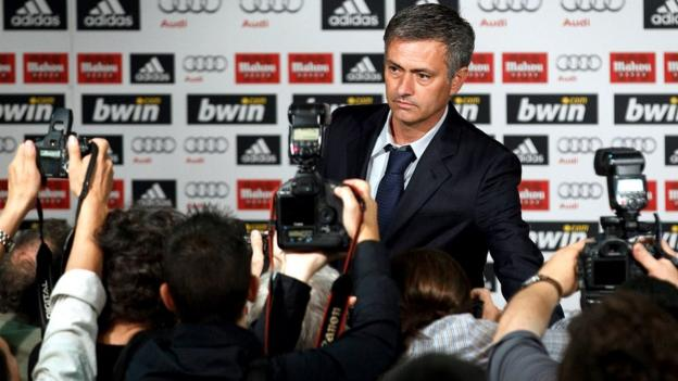 Jose Mourinho is revealed as the new coach of Real Madrid