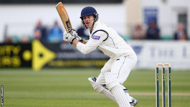 Hampshire batsman Jimmy Adams