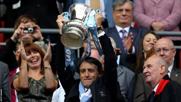Roberto Mancini, Manchester City, FA Cup