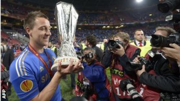 Chelsea captain John Terry