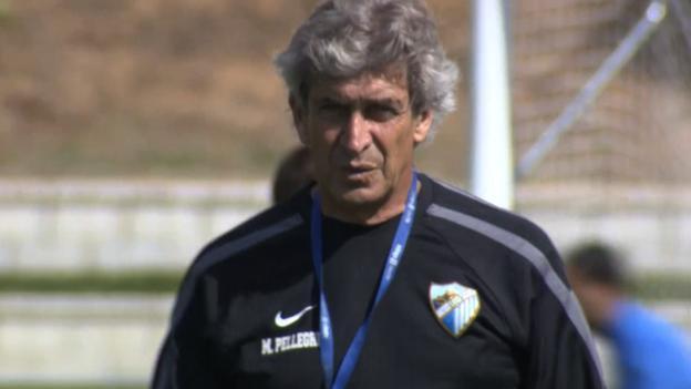 Manuel Pellegrini: Malaga sad to lose him to Man City