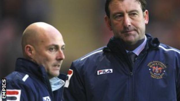 Alan Wright and Steve Thompson