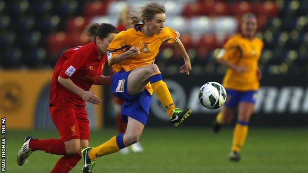 Doncaster Rovers Belles' Ashleigh Mills