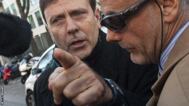 Dr Eufemiano Fuentes (left) is at the centre of the doping scandal