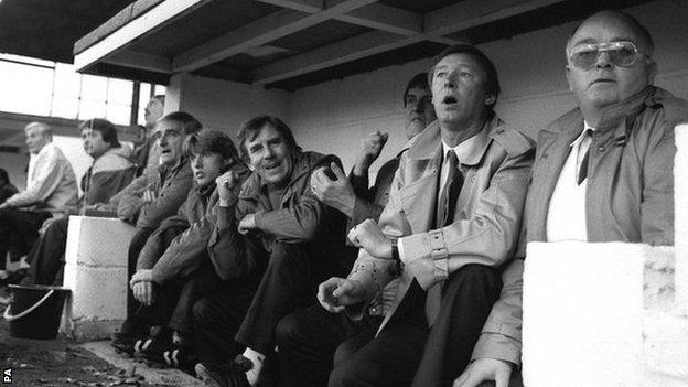 Ferguson watching 2-0 defeat by Oxford United