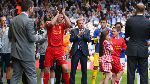 Jamie Carragher salutes 'special' Liverpool farewell