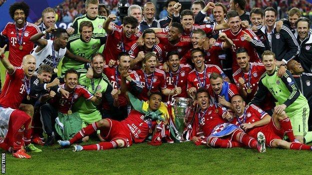 Borussia Dortmund 1 2 Bayern Munich Bbc Sport