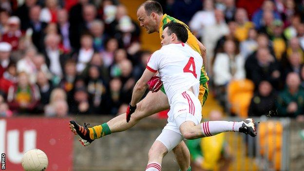 Ulster Football Championship Donegal 2 10 0 10 Tyrone Bbc Sport