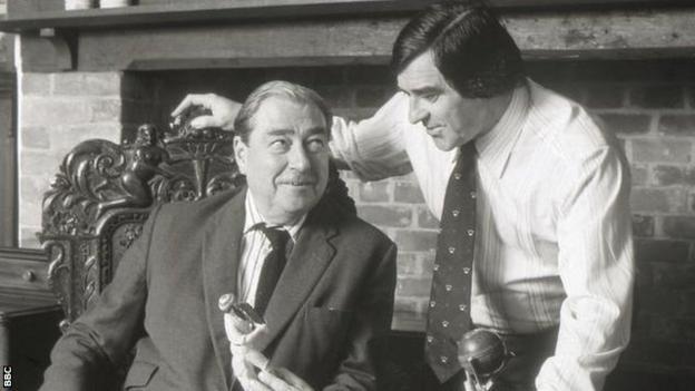 John Arlott and Fred Trueman