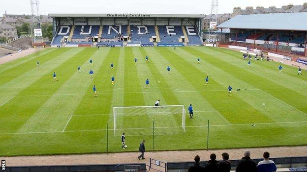 Dundee will play in Division One next season