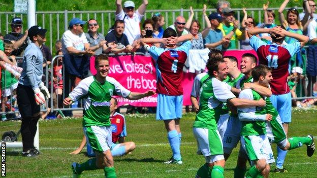 Guernsey FC fans could be affected by FlyBe's cessation of services between Guernsey and Gatwick