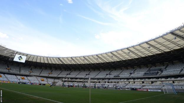 Estadio Mineirao, Belo Horizonte
