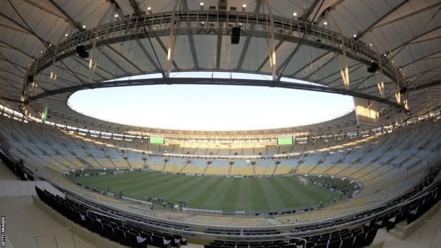 Inside the Maracana