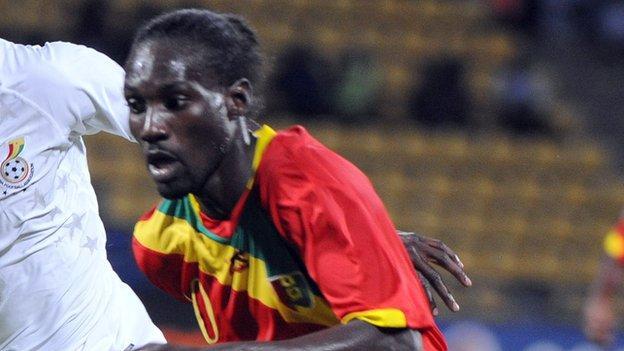 Guinea's Ismael Bangoura