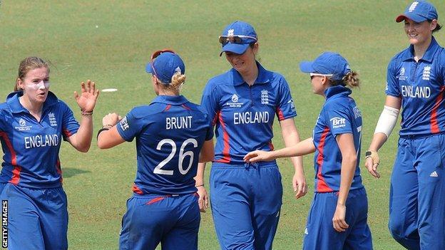 The England women's cricket team