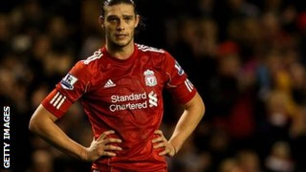 Liverpool's Andy Carroll