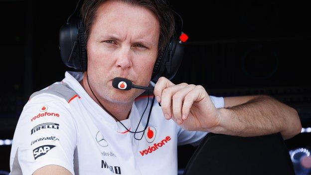 McLaren's sporting director Sam Michael