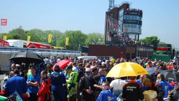 Isle of Man TT Grandstand