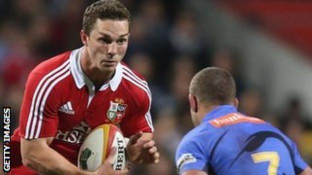 George North takes on Western Force
