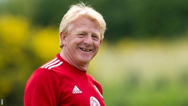 Scotland boss Gordon Strachan
