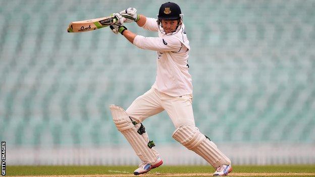 Sussex batsman Ed Joyce