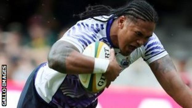 Alesana Tuilagi scored two tries for Samoa