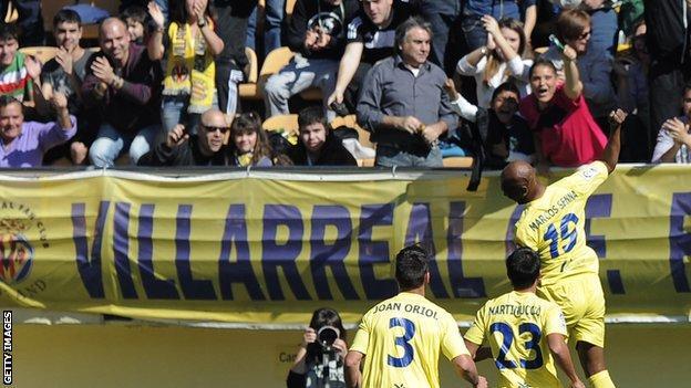 Villarreal celebrations