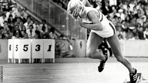 Former British athlete Donna Murray