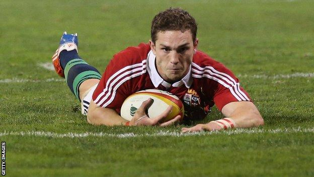 Lions winger George North