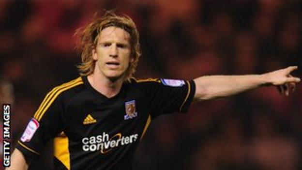 Hull defender Paul McShane