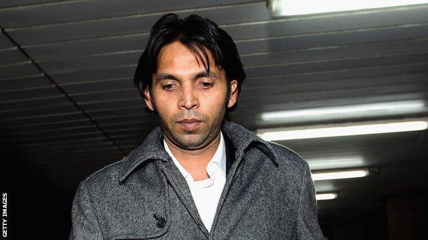 Pakistan fast bowler Mohammad Asif