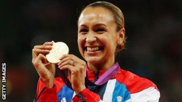 Olympic champion Jessica Ennis-Hill
