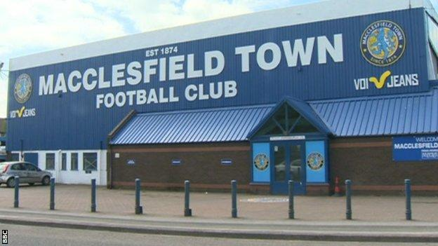Moss Rose home of Macclesfield Town