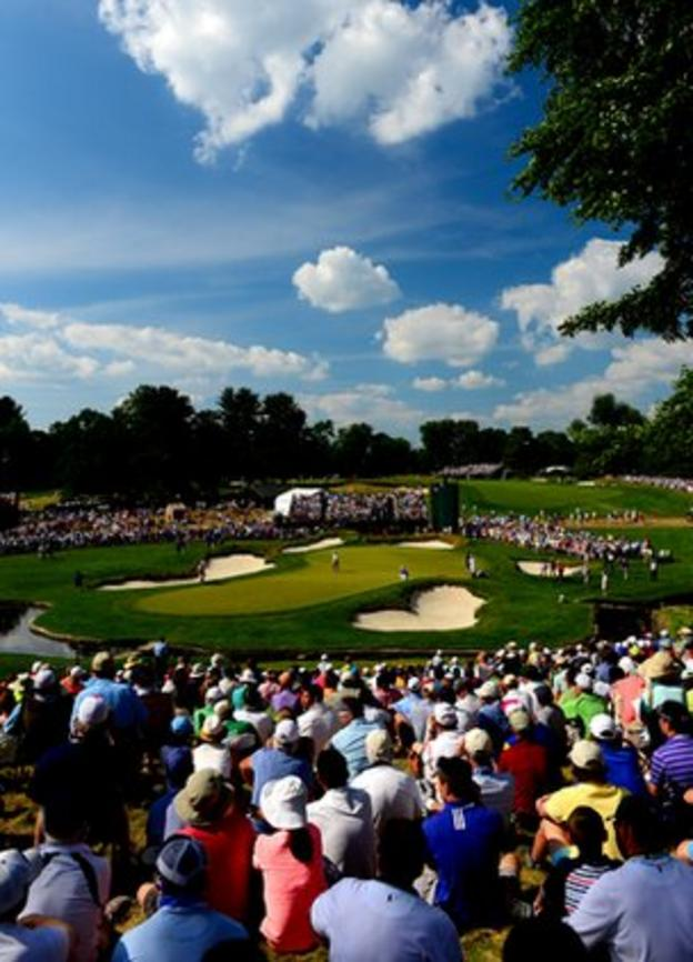 Merion Golf Club in Philadelphia proved a testing venue for the 2013 US Open