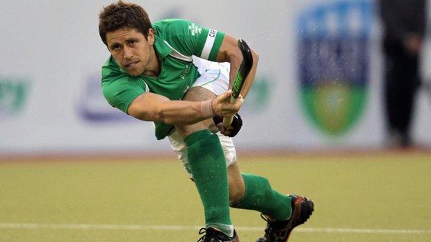 Ronan Gormley has captained Ireland 108 times