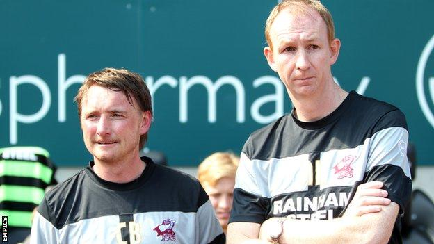 Chris Brass (left) and Alan Knill