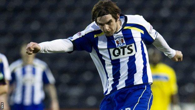 Cillian Sheridan scored 10 goals for Kilmarnock last season