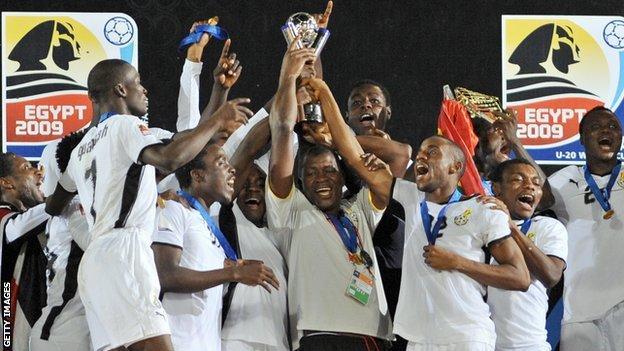Ghana win 2009 Under-20 World Cup