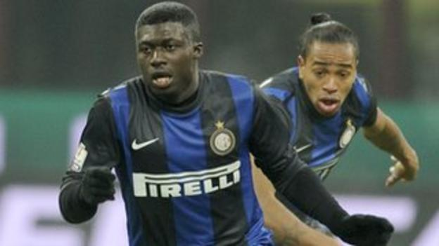 Inter Milan and Ghana under-20 player Alfred Duncan