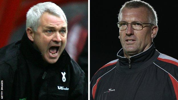 Brian Little and Tim Flowers