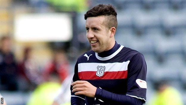 Dundee midfielder Ryan Conroy