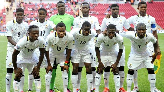 Ghana's Under-20 football team