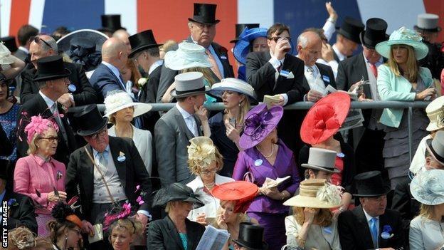 Crowds at Royal Ascot