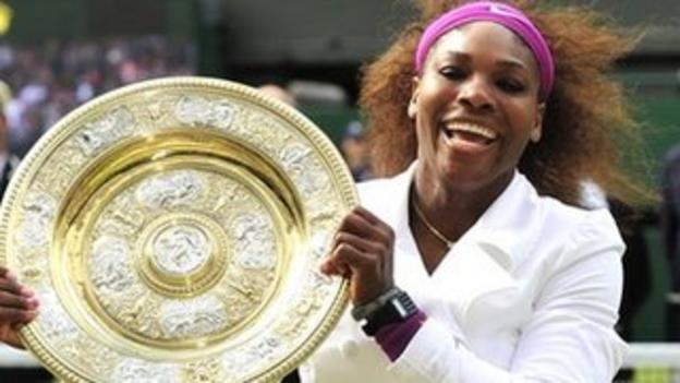 Serena Williams is an overwhelming favourite for the women's singles title