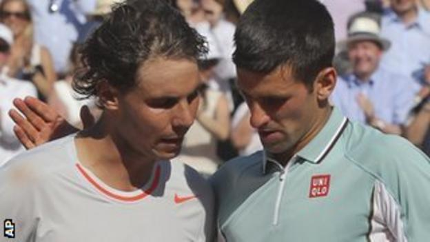 Nadal overcame Djokovic in an epic five-set French Open semi-final earlier this month