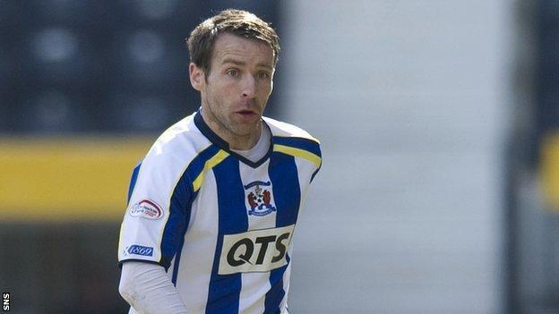 Former Kilmarnock defender Garry Hay