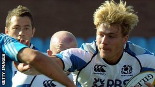 Scotland player David Denton