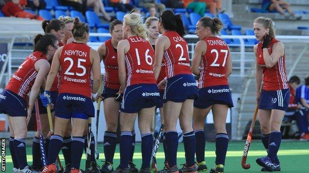 England's hockey team
